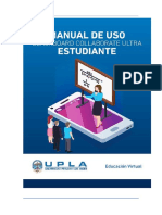 2 MANUAL DE USO Y MANEJO DE BB COLLABORATE ULTRA ESTUDIANTE UPLA-V1