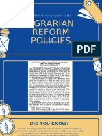 Agrarian Reform Policies, American Period.pptx