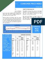 Consumer Price Index - Feb 2020
