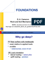 Deep Foundations Students 2006