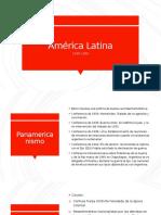 América Latina 1930-1950