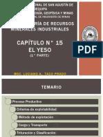 1. CAPÍTULO N° 15 - EL YESO - 1° PARTE.pptx