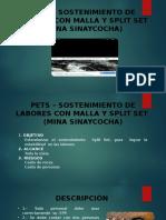 PETS-perforacion