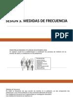 SESION 3 MEDIDAS DE FRECUENCIA