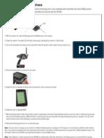 SR3100 Binding Instructions