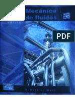 Mecanica de Fluidos Robert Mott 6TA ED LIBRO