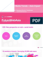 GWI Global Social Media Trends - Asia Impact (Mar 10)
