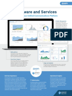 Zoom Software Datasheets