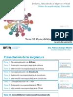 tema 10 diapositivas dislexia y discalculia Unir Neuro