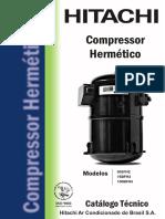 CATÁLOGO COMPRESSOR HITACHI 100B-FH4