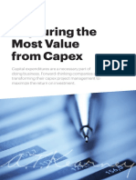 Capturing the Most Value from Capex