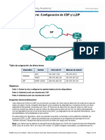 10.1.2.5 Lab - Configure CDP and LLDP