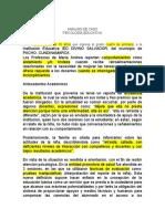 ANÁLISIS DE CASO - Mayo 12