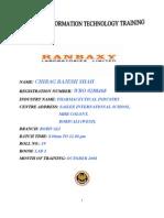 History of Ranbaxy