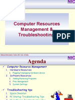 Computer Resourse Management & Trouble Shootting_new