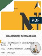 PPT S1 L.V. MECÁNICA DE LA LECTURA