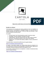MANUAL DE REVISÃO DA CARTOLA EDITORA