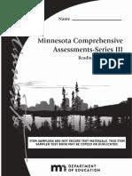 Minnesota's MCAs Sampler