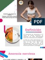 Trastornos de la conducta alimentaria y del sueño
