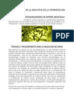 Investigación Microbiana 1