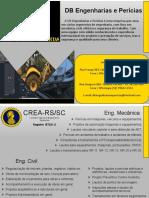 DB Engenharia e Perícias Portfólio