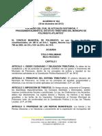 ACUERDO 034 ESTATUTO TRIBUTARIO POLONUEVO 2014 ORIGINAL (3)