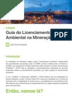 e-book Guia para o Licenciamento Ambiental na Mineração