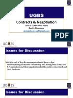 Contracts & Negotiations