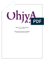 OhjyA C++ a Quick Guide