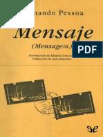 Pessoa Fernando - Mensaje
