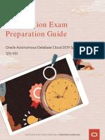 OU_1Z0-931-Autonomous-Database-Specialist-2019-Exam-Prep-Guide