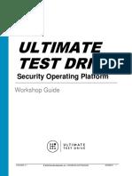 UTD-SOP-1.1 Workshop Guide-20190910