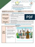 Guía de trabajo autónoma de estudios Sociales