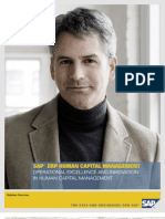 SAP ERP Human Capital Management (HCM) - Overview Brochure (US)
