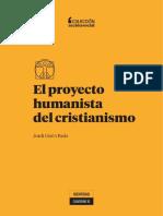 Cuaderno 10. El proyecto humanista del cristianismo.pdf