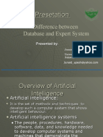 Difference Bw Databas and Expert System