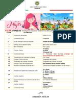 marzo agenda