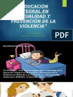 EDUCACIÓN INTEGRAL EN SEXUALIDAD Y PREVENCIÓN DE LA VIOLENCIA
