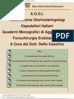 FONOCHIRURGIA ENDOLARINGEA