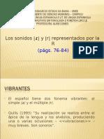 LOS FONEMAS VIBRANTES