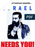 Theodor Herzl poster - Israel Needs You!
