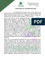 Mensaje REPAM Bolivia 13 de Mayo