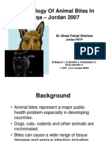 Pidemiology of Animal Bites in Zarqa 2007