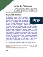 Prayer to St