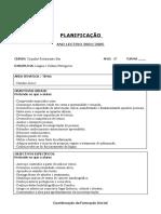 PLANIFICAÇÃO DE SESSÃO 3