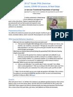 tpol overview- juniors 2020