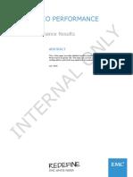 EMC ScaleIO Performance Reports