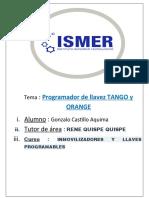 Tango Programador de Transponders