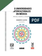 Las Universidades Interculturales,HISTORIA, DESAFÍOS Y ACTUALIDAD