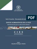DATOS NORMATIVOS DE LA VOZ-UNIVERSIDAD SAN SEBASTIAN.pdf